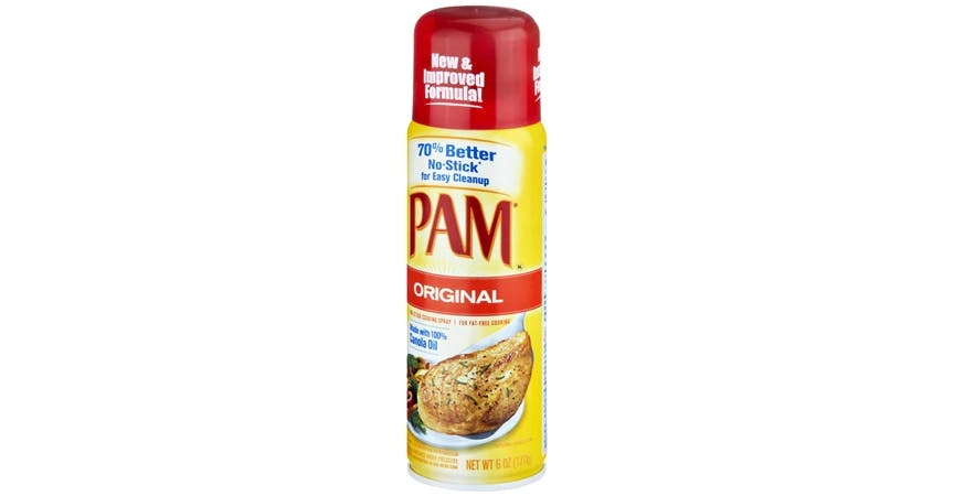 Pam No-Stick Cooking Spray (6 oz) from EatStreet Convenience - W Mason St in Green Bay, WI