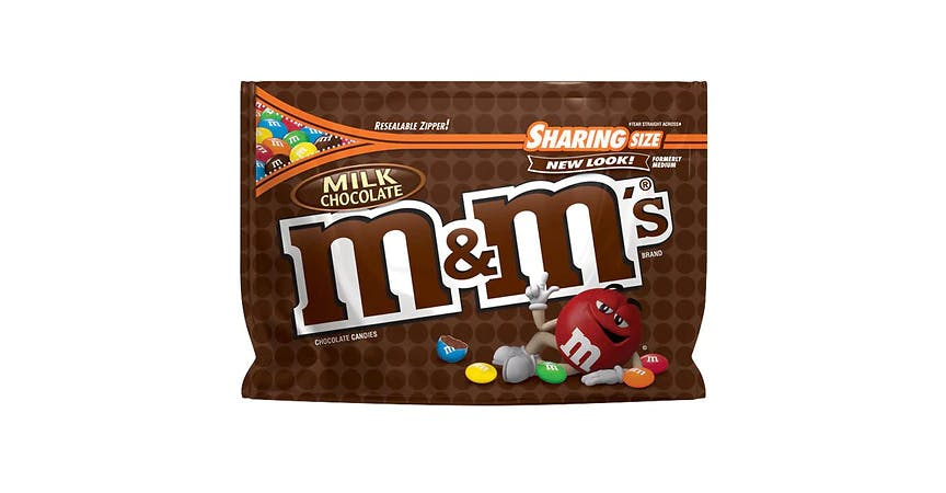 M&M's Milk Chocolate Candy Bag Milk Chocolate (11 oz) from EatStreet Convenience - W Mason St in Green Bay, WI