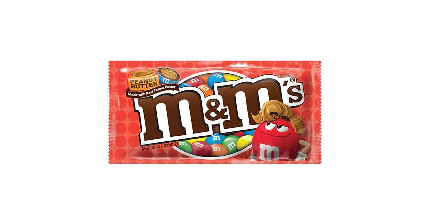 M&M's Chocolate Candies Peanut Butter (2 oz) from EatStreet Convenience - W Mason St in Green Bay, WI