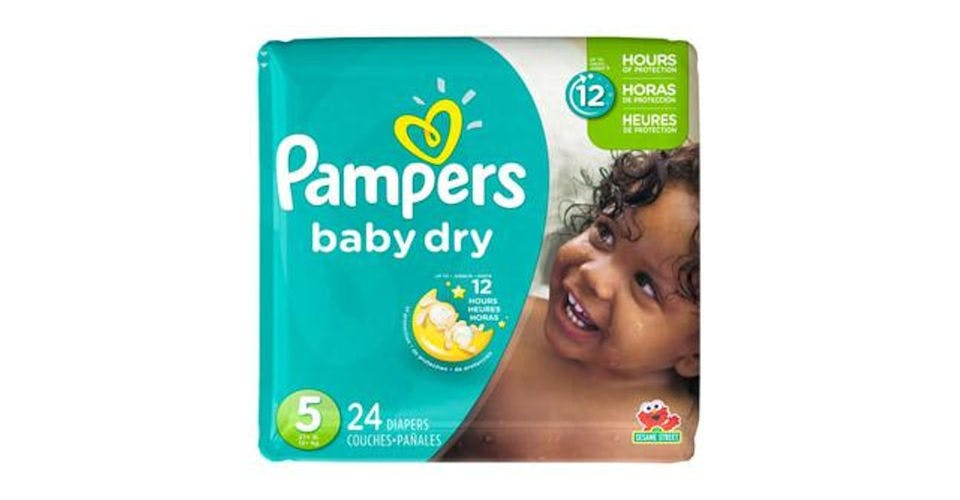 Pampers Baby-Dry Diapers Size 5 (24 ct) from CVS - Main St in Green Bay, WI