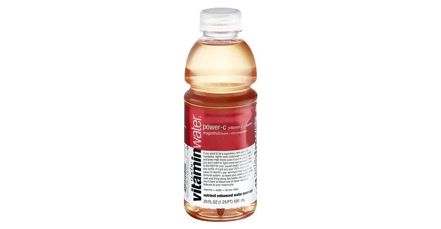 Glaceau Vitaminwater Nutrient Enhanced Beverage Bottle Dragonfruit (20 oz) from EatStreet Convenience - W Mason St in Green Bay, WI