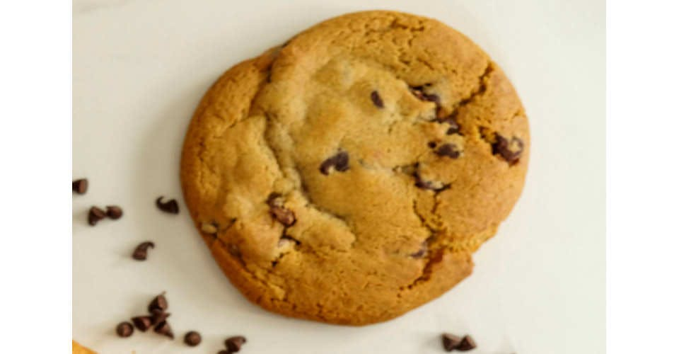 Chocolate Chip Cookie from Patina Coffeehouse in Wausau, WI
