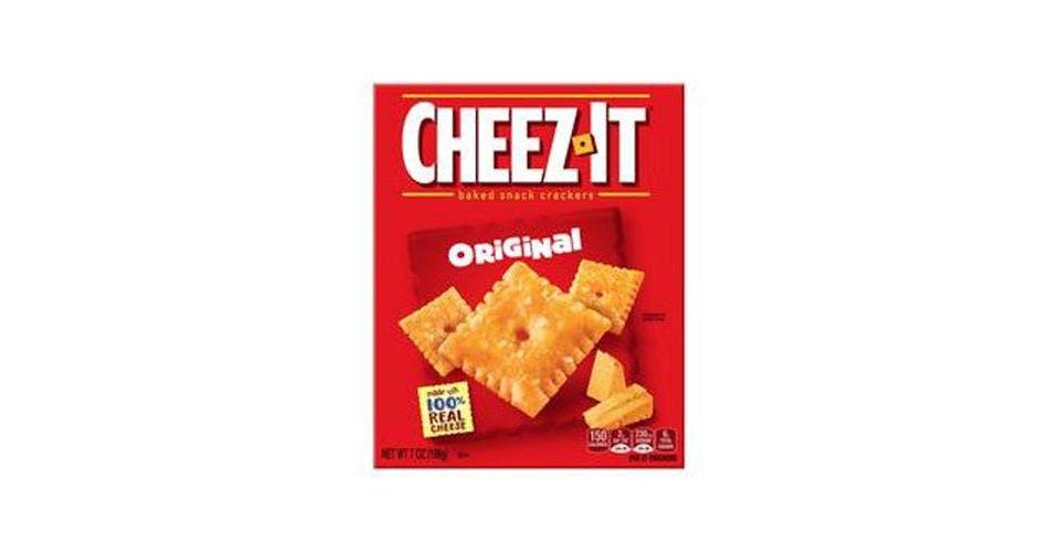 Cheez-It Baked Snack Crackers (7 oz) from CVS - W 1st St in Cedar Falls, IA