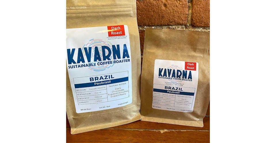Brazil Paubrasil from Kavarna Coffee Store in Green Bay, WI