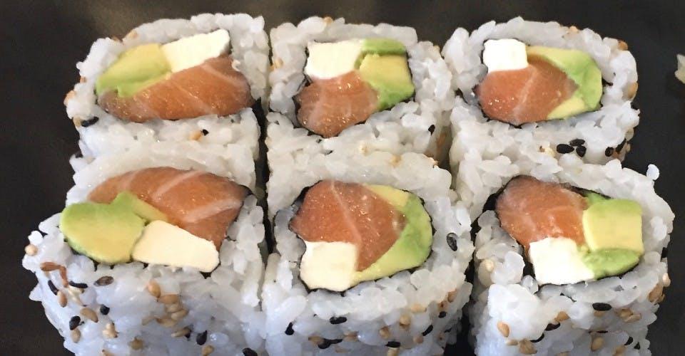 92. Philadelphia Roll (6 Pcs) from Oishi Sushi & Grill in Walnut Creek, CA