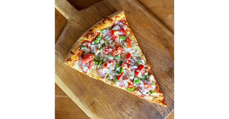 Denver Pizza from Papa Keno's in Lawrence, KS