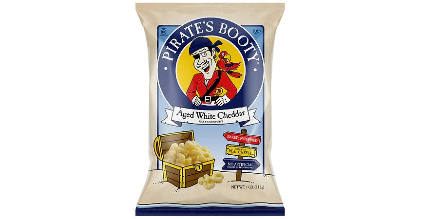 Pirate's Booty White Cheddar Rice & Corn Puffs (4 oz) from EatStreet Convenience - W Mason St in Green Bay, WI