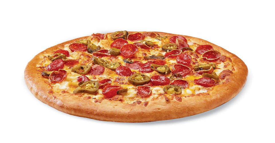 Pepperoni Jalapeno Popper Pizza from Toppers Pizza - Madison Downtown in Madison, WI