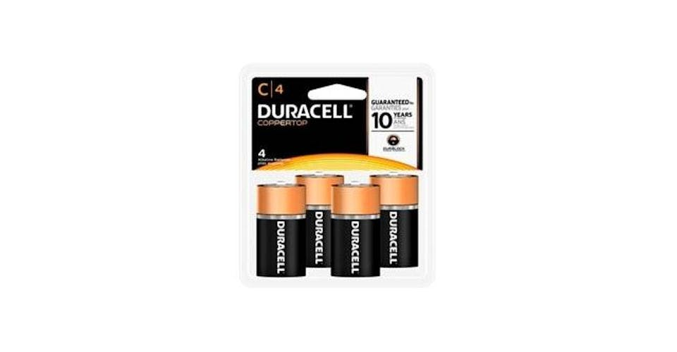 Duracell CopperTop C Alkaline Battery (4 ct) from CVS - Main St in Green Bay, WI