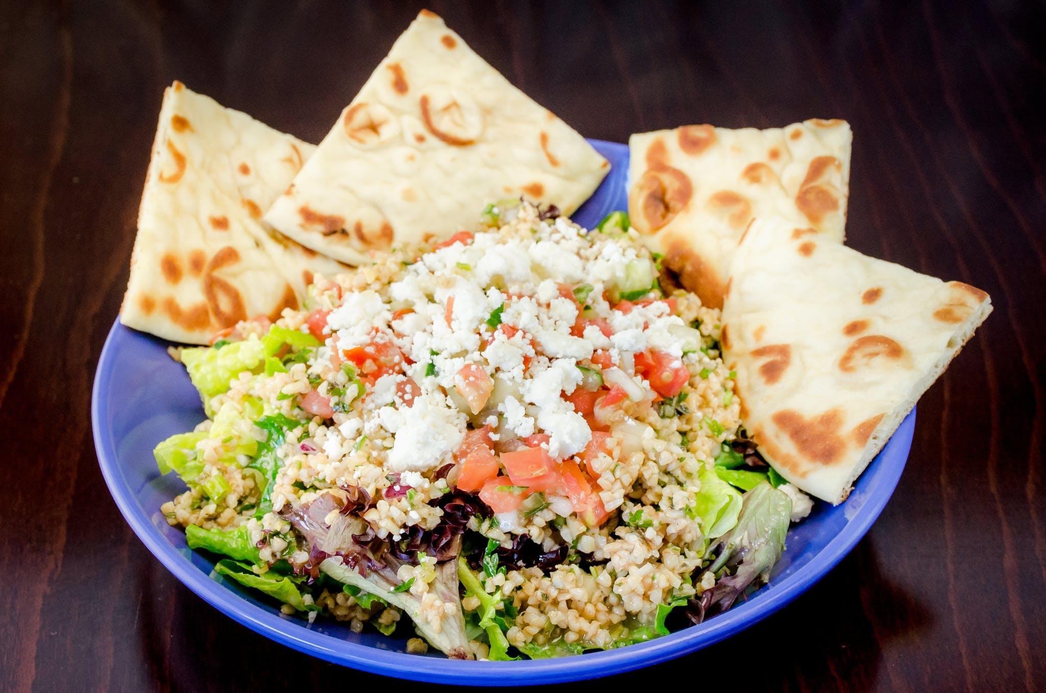 Tabouleh Salad from Freska Mediterranean Grill in Middleton, WI