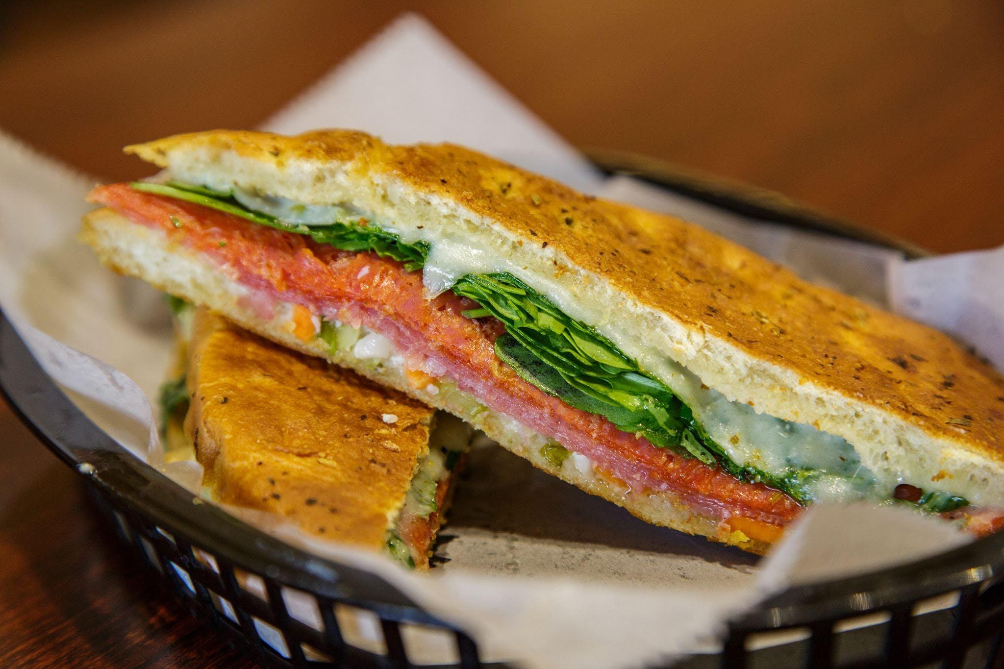 Italian Sandwich from Brennans Market in Madison, WI