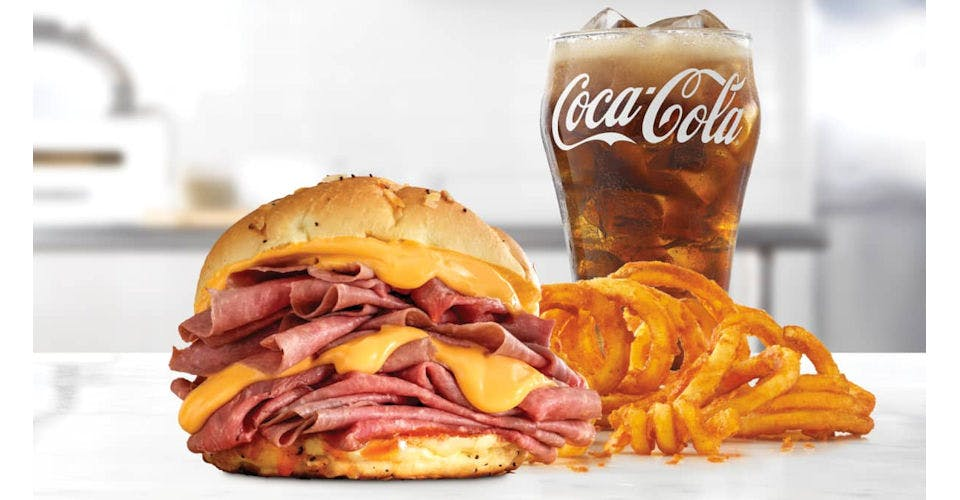Double Beef 'n Cheddar from Arby's: Eau Claire Hendrickson Dr (1958) in Eau Claire, WI