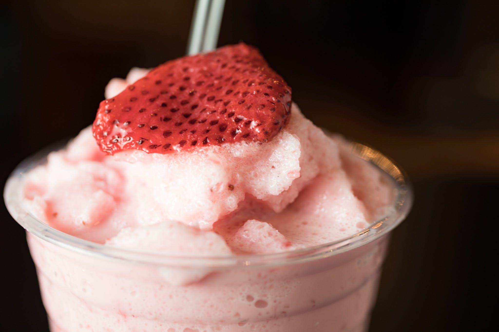 Strawberry Milkshake from Judy's Kitchen in New Brunswick, NJ