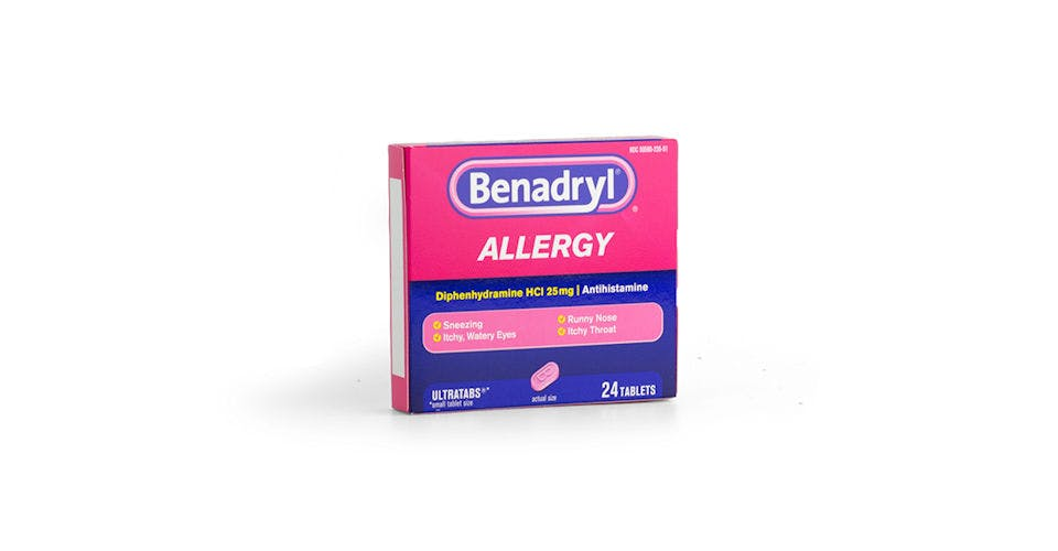 Benadryl Allergy Tablets 24CT from Kwik Trip - Eau Claire Water St in EAU CLAIRE, WI
