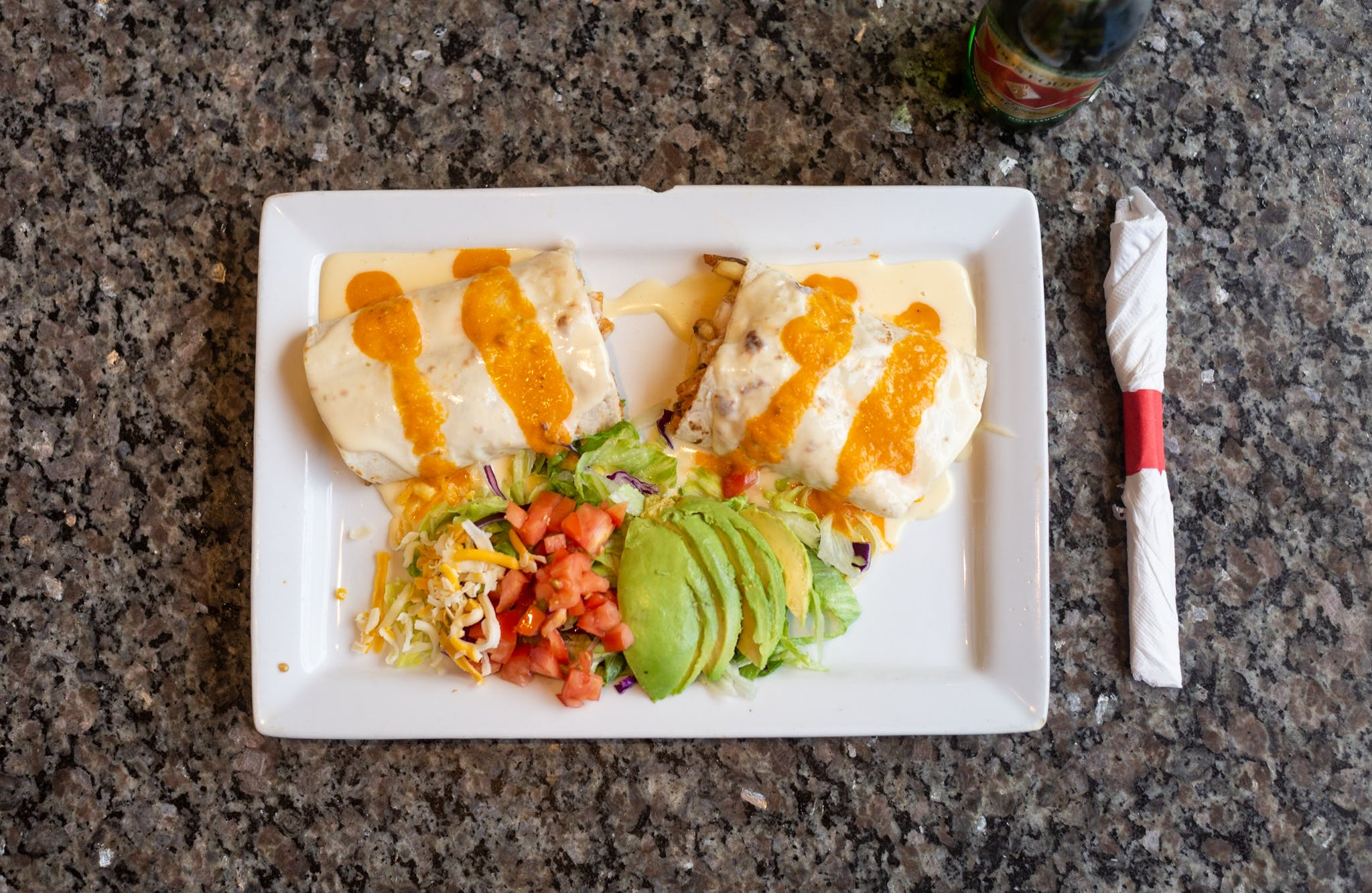 Burrito Mezcal from El Mezcal in Lawrence, KS