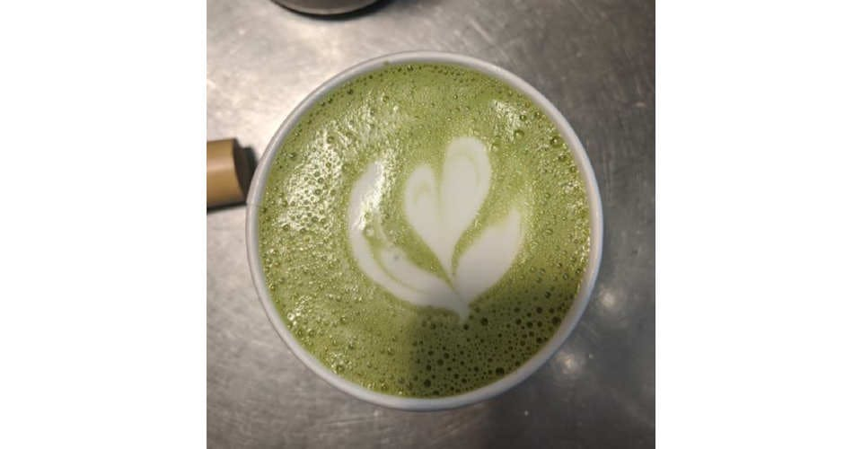 Sweet Matcha from Patina Coffeehouse in Wausau, WI