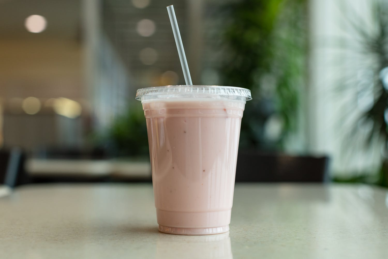 Strawberry Lassi from Mango Indian in Eau Claire, WI