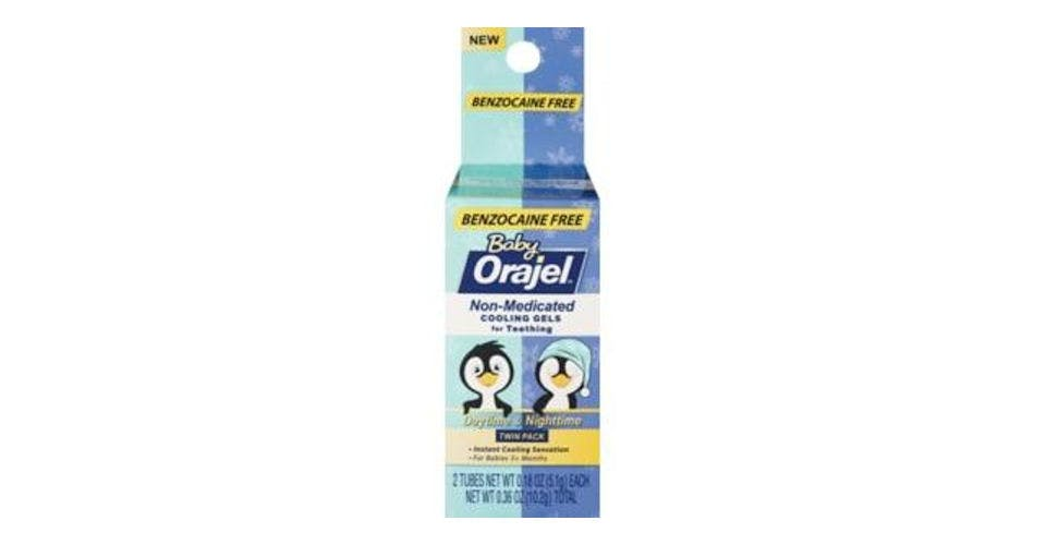 Baby Orajel Non-Medicated Cooling Gel (0.36 oz) from CVS - W Court St in Janesville, WI