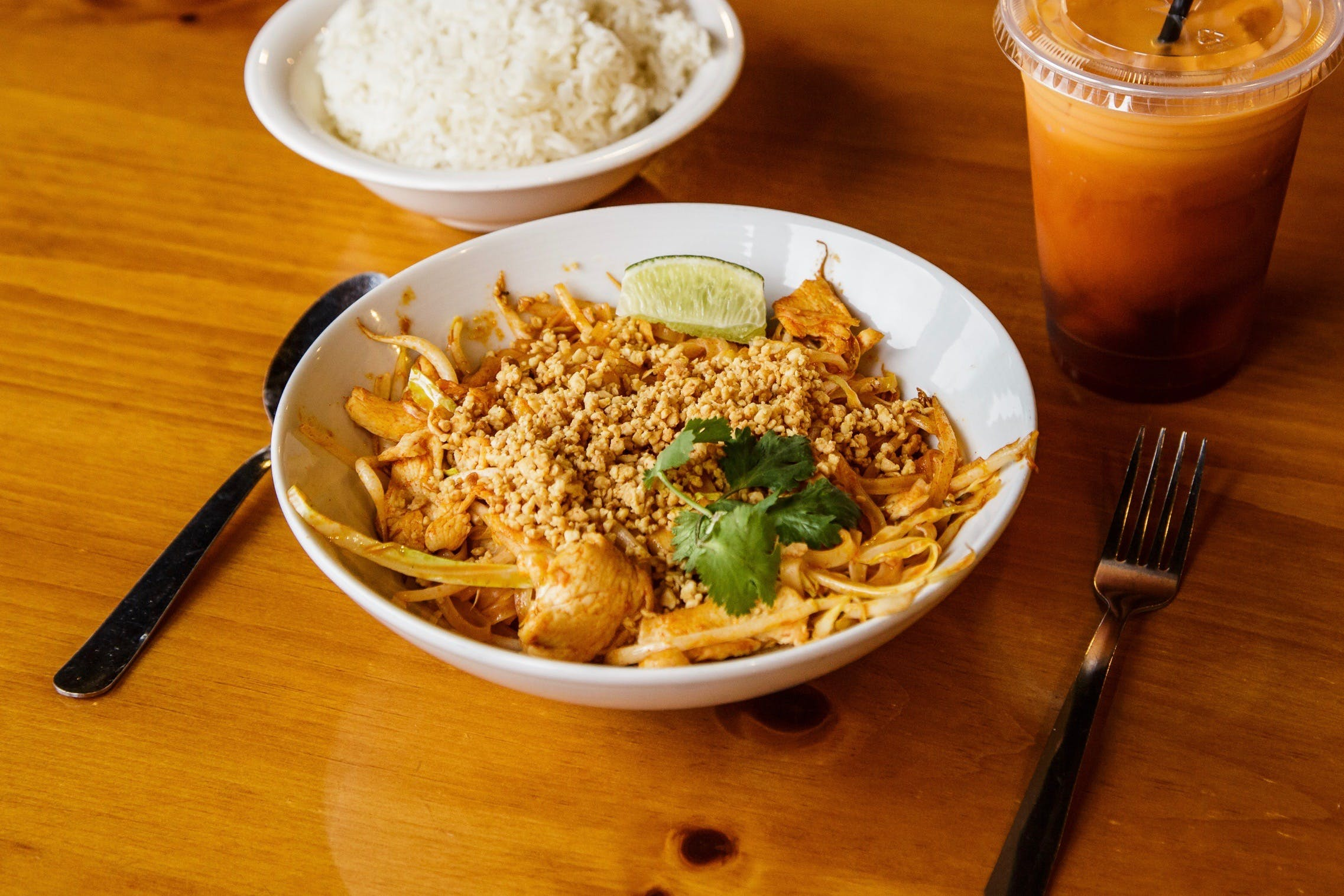 Pad Thai from Curry Campus in Madison, WI