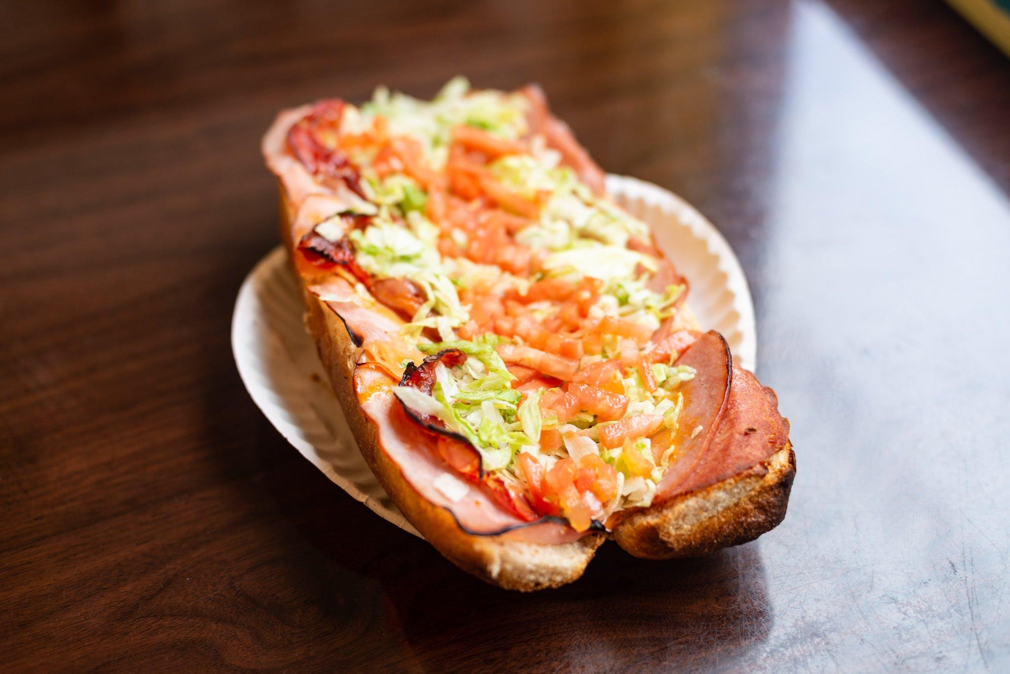 Torpedo Sub from Pizza Bob's in Ann Arbor, MI