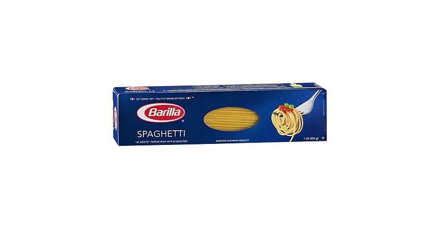 Barilla Spaghetti (16 oz) from EatStreet Convenience - W Mason St in Green Bay, WI