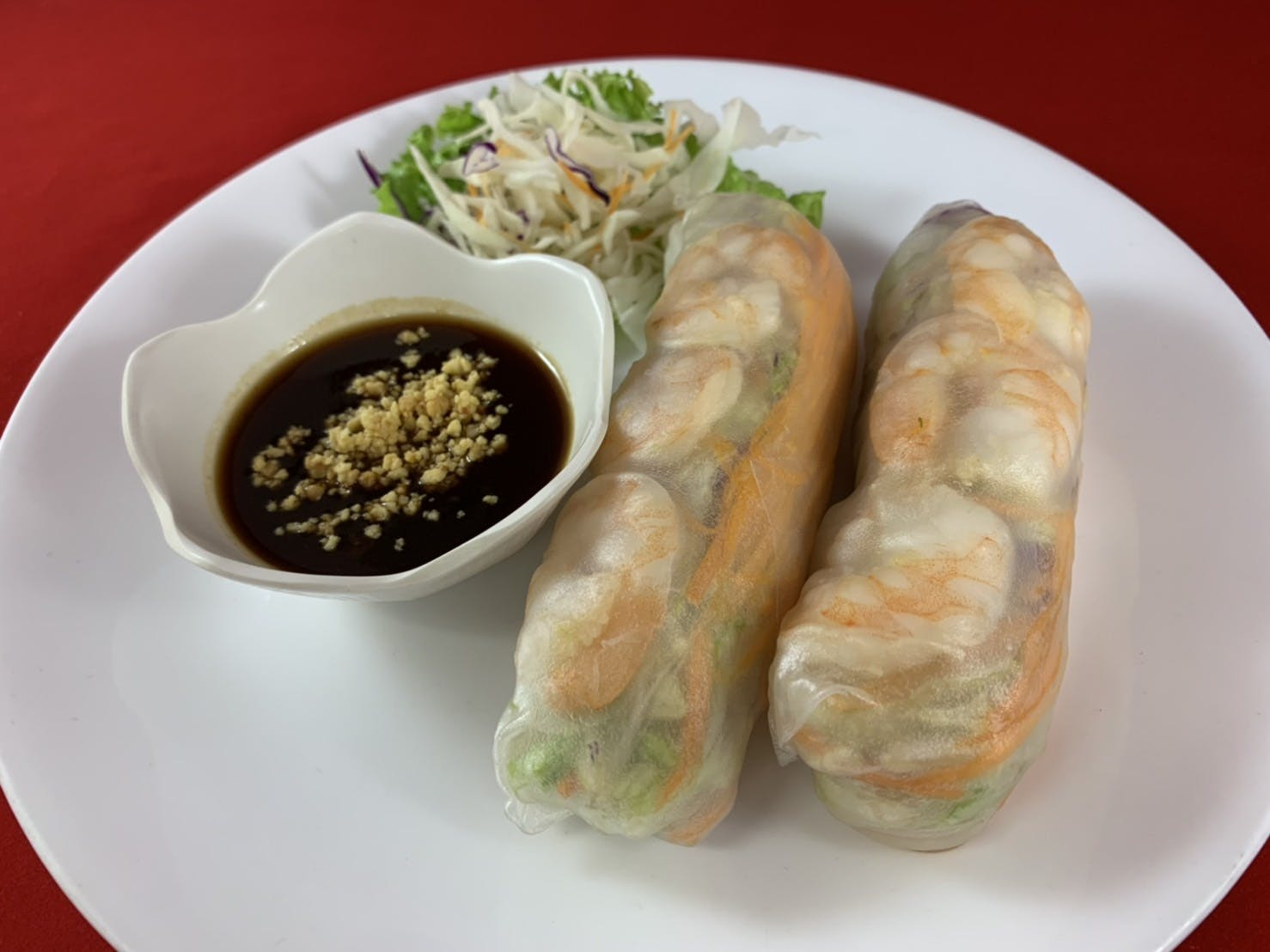 3B. Summer Roll (Dinner) from Sa-Bai Thong - University Ave in Madison, WI