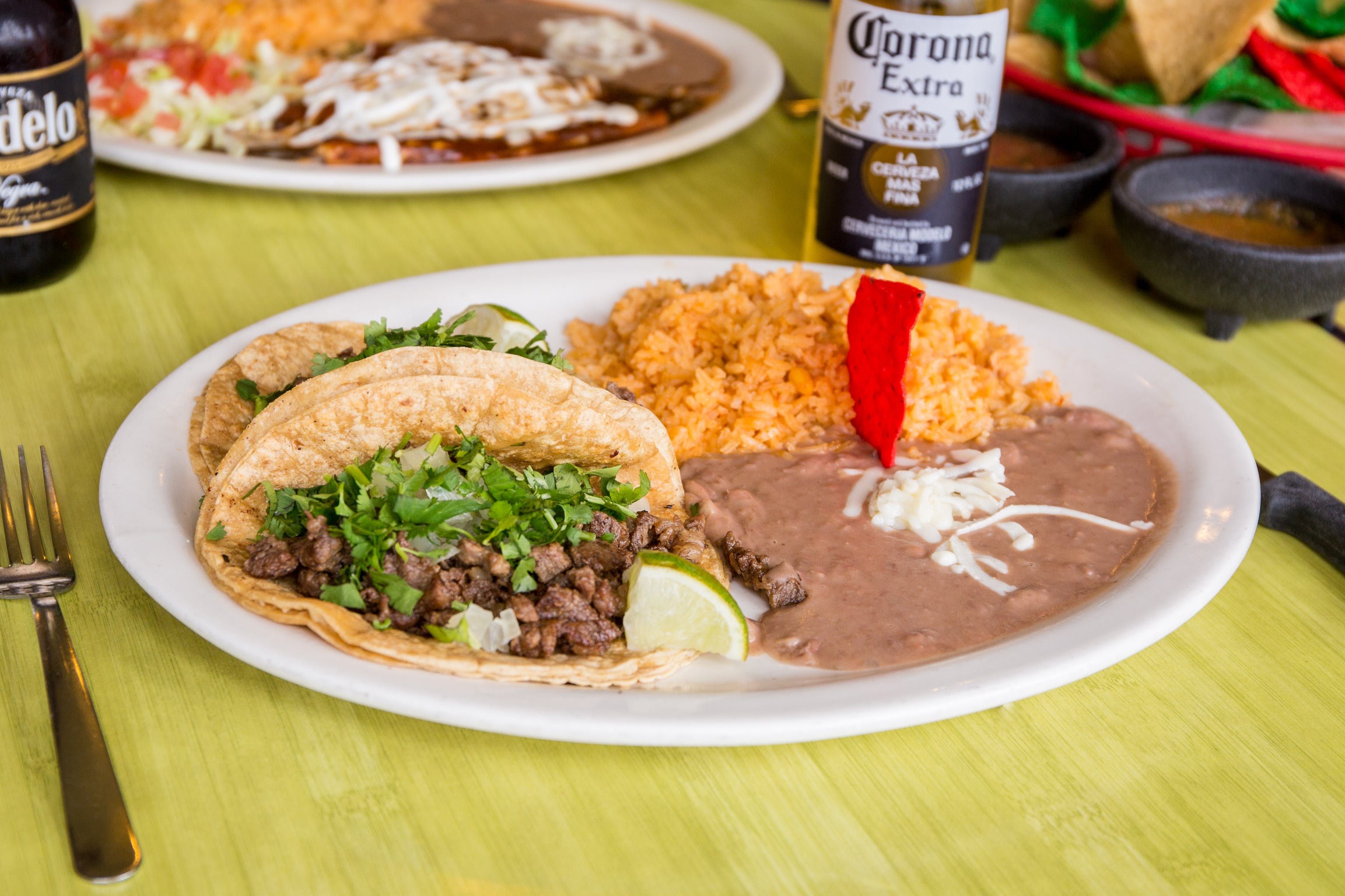 Taco Dinner from Taqueria Guadalajara in Madison, WI