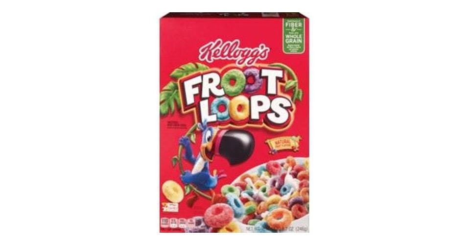 Kellogg's Froot Loops Cereal (8.7 oz) from CVS - Main St in Green Bay, WI
