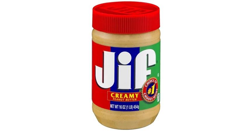 Jif Peanut Butter Creamy (16 oz) from EatStreet Convenience - W Mason St in Green Bay, WI