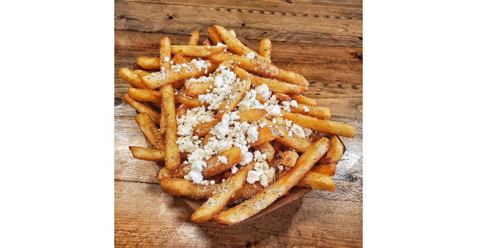 Greek Fries from Parthenon Gyros in Madison, WI