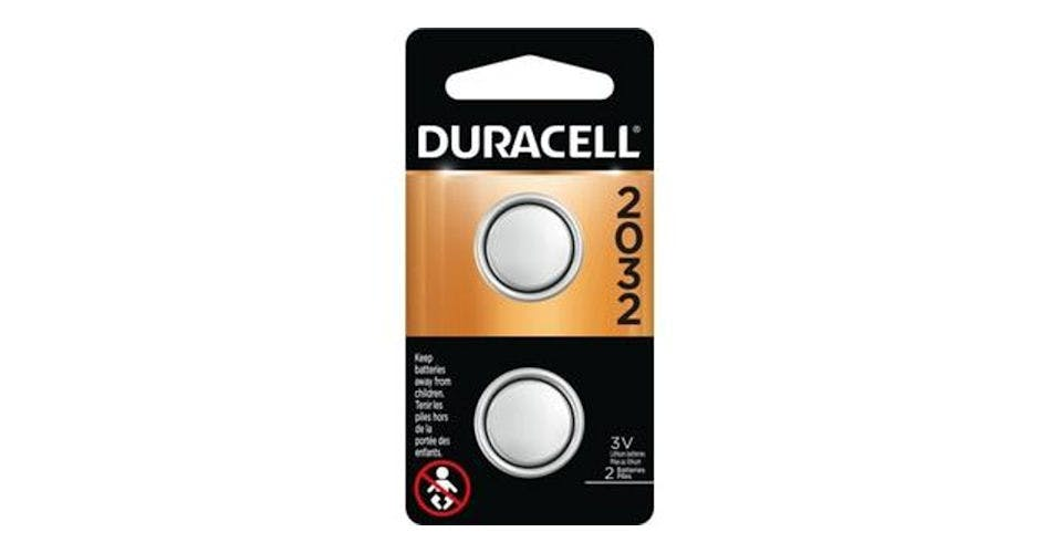 Duracell Coin Button 2032 Battery (2 ct) from CVS - Main St in Green Bay, WI