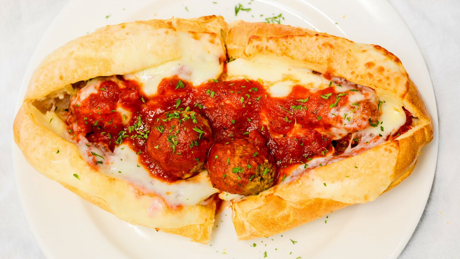 Meatball Sub from Aroma Pizza & Pasta in Lake Forest, CA