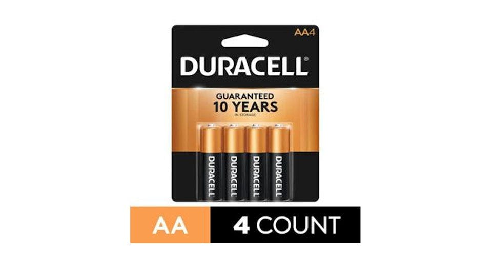 Duracell CopperTop AA Alkaline Battery (4 ct) from CVS - Main St in Green Bay, WI
