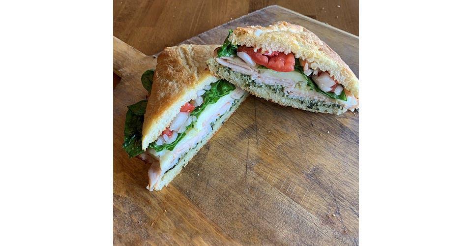 Pesto Turkey Sandwich from Papa Keno's in Lawrence, KS