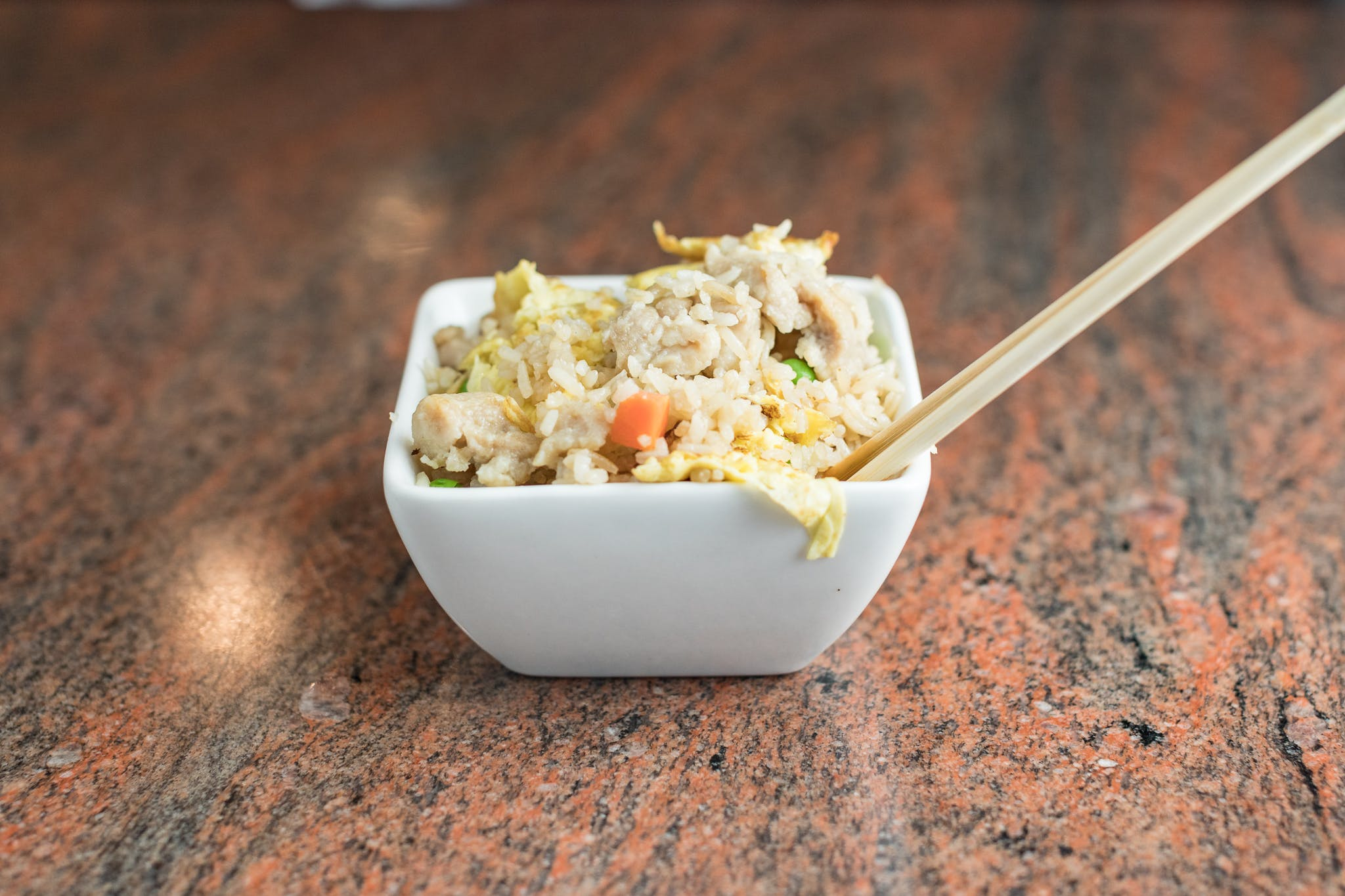 Vegetable Fried Rice from Shanghai Bistro in Eau Claire, WI