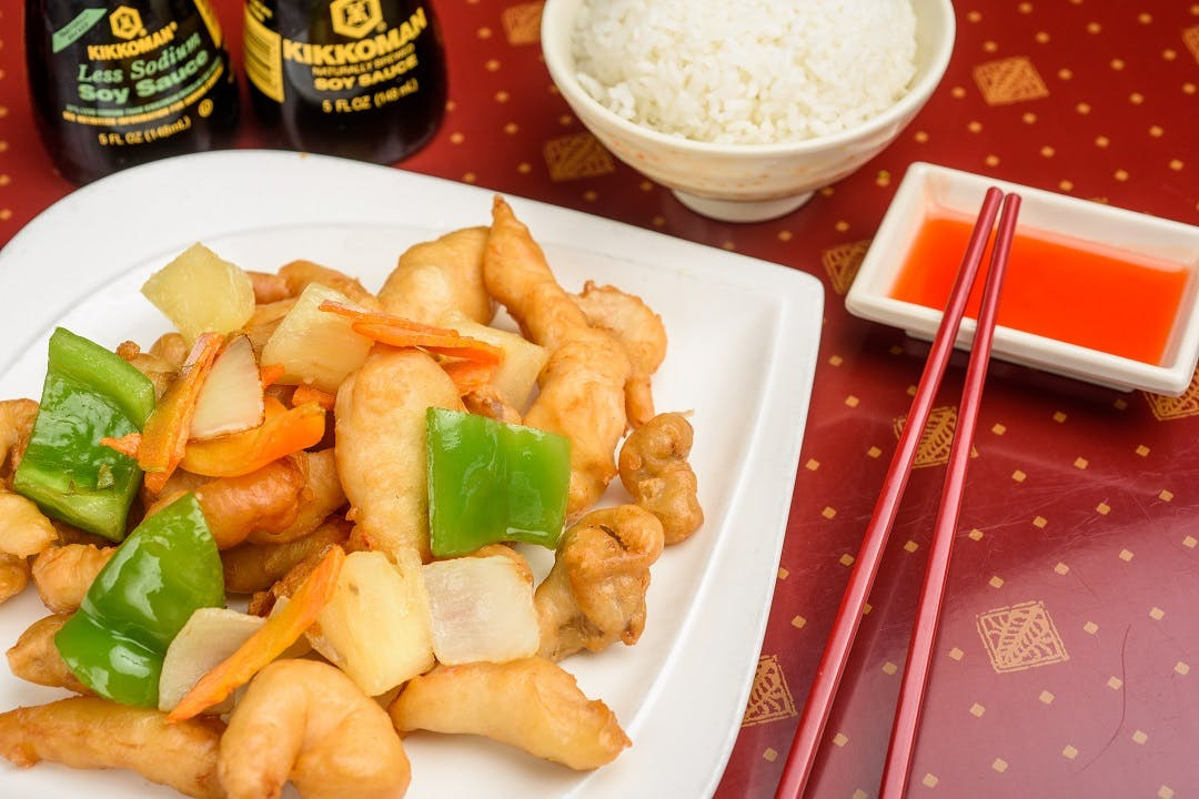 1. Sweet & Sour Chicken from Ling's Bistro in Topeka, KS