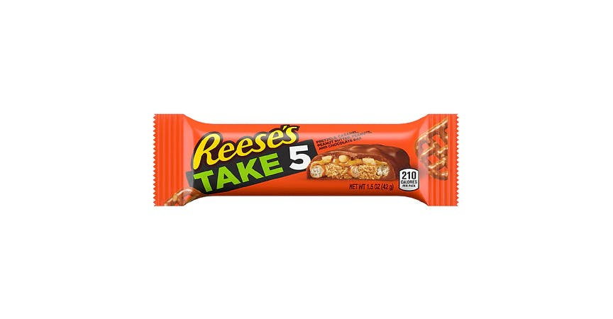 Reese's TAKE5 Candy Bar (2 oz) from EatStreet Convenience - W Mason St in Green Bay, WI