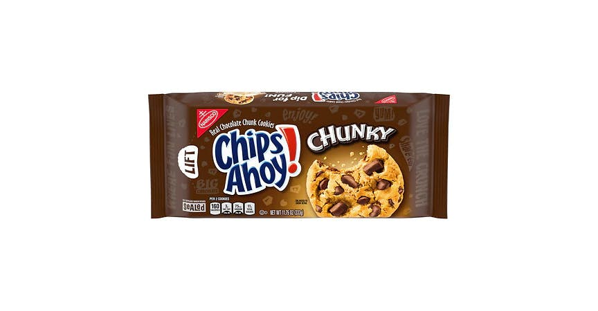 Chips Ahoy Cookies Chocolate Chunk (12 oz) from EatStreet Convenience - W Mason St in Green Bay, WI
