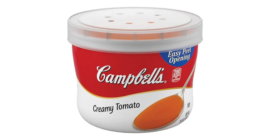 Campbell's Creamy Tomato Soup Microwavable Bowl (15.4 oz) from EatStreet Convenience - W Mason St in Green Bay, WI