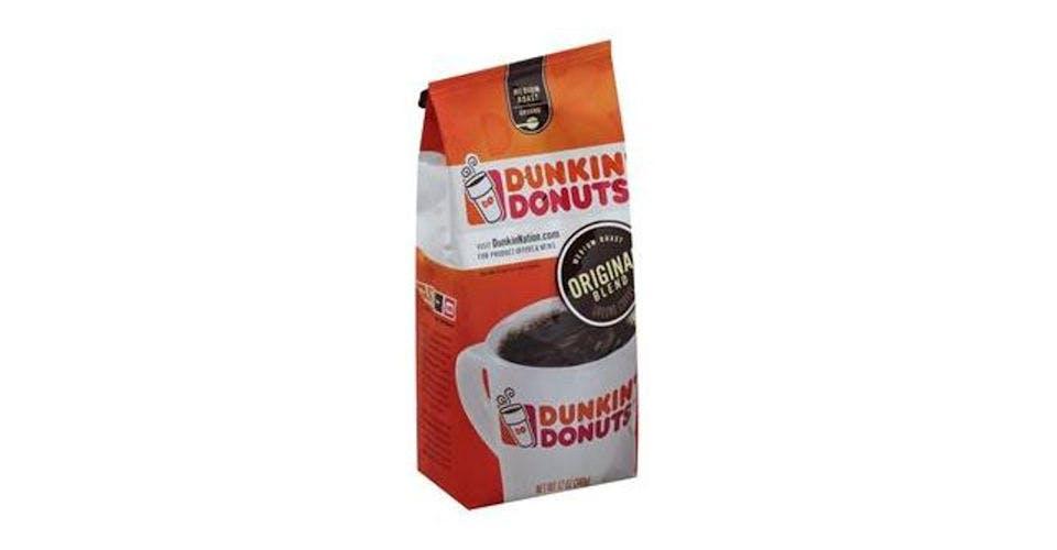 Dunkin Donuts Ground Coffee Original Blend Medium Roast (12 oz) from CVS - Main St in Green Bay, WI