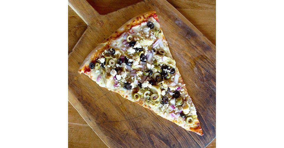 Brutus Pizza from Papa Keno's in Lawrence, KS