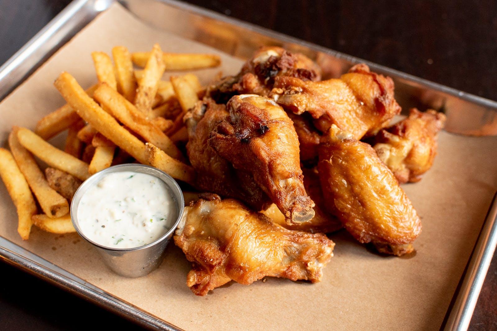 Traditional Bone-In Wings Combo Meal from Midcoast Wings - University Ave in Cedar Falls, IA