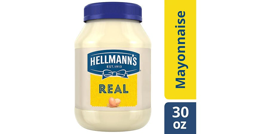 Hellmann's Real Mayonnaise (30 oz) from EatStreet Convenience - W Mason St in Green Bay, WI