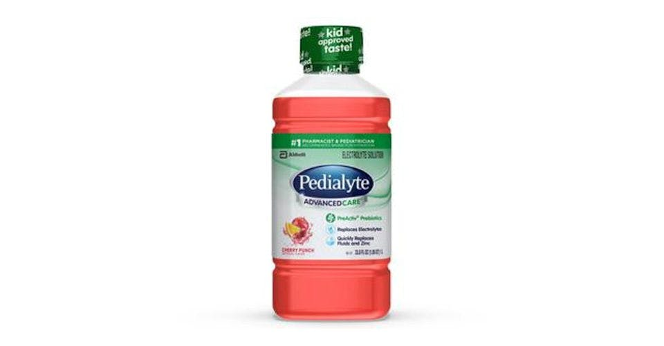 Pedialyte AdvancedCare Electrolyte Solution Cherry Punch Ready-to-Drink (35 oz) from CVS - Main St in Green Bay, WI