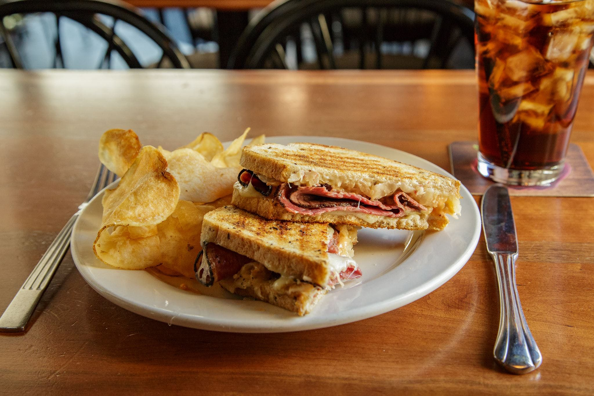 2. Bud B's Rockin's Reuben from Argus Bar & Grill in Madison, WI