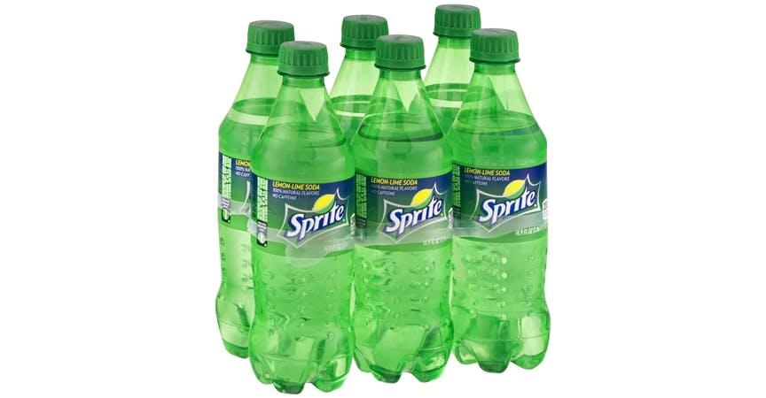 Sprite Soda Lemon-Lime 6-pack (17 oz) from EatStreet Convenience - W Mason St in Green Bay, WI