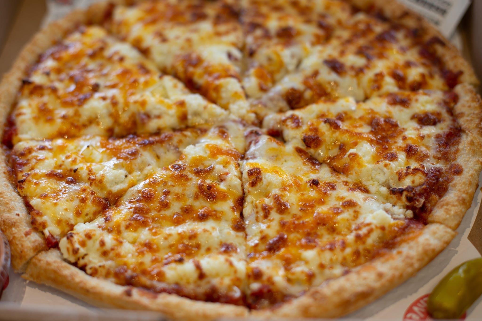 Sarpino's Cheese Bonanza Pizza from Sarpino's Pizzeria - Washington Ave. in Minneapolis, MN