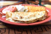 Quesadilla Rellena from Los Jaripeos in Oshkosh, WI