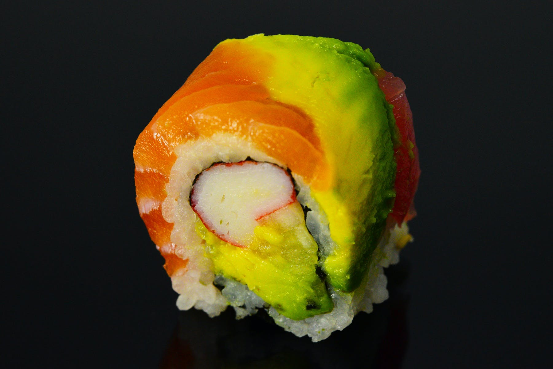 Rainbow Roll from Fin Sushi in Madison, WI