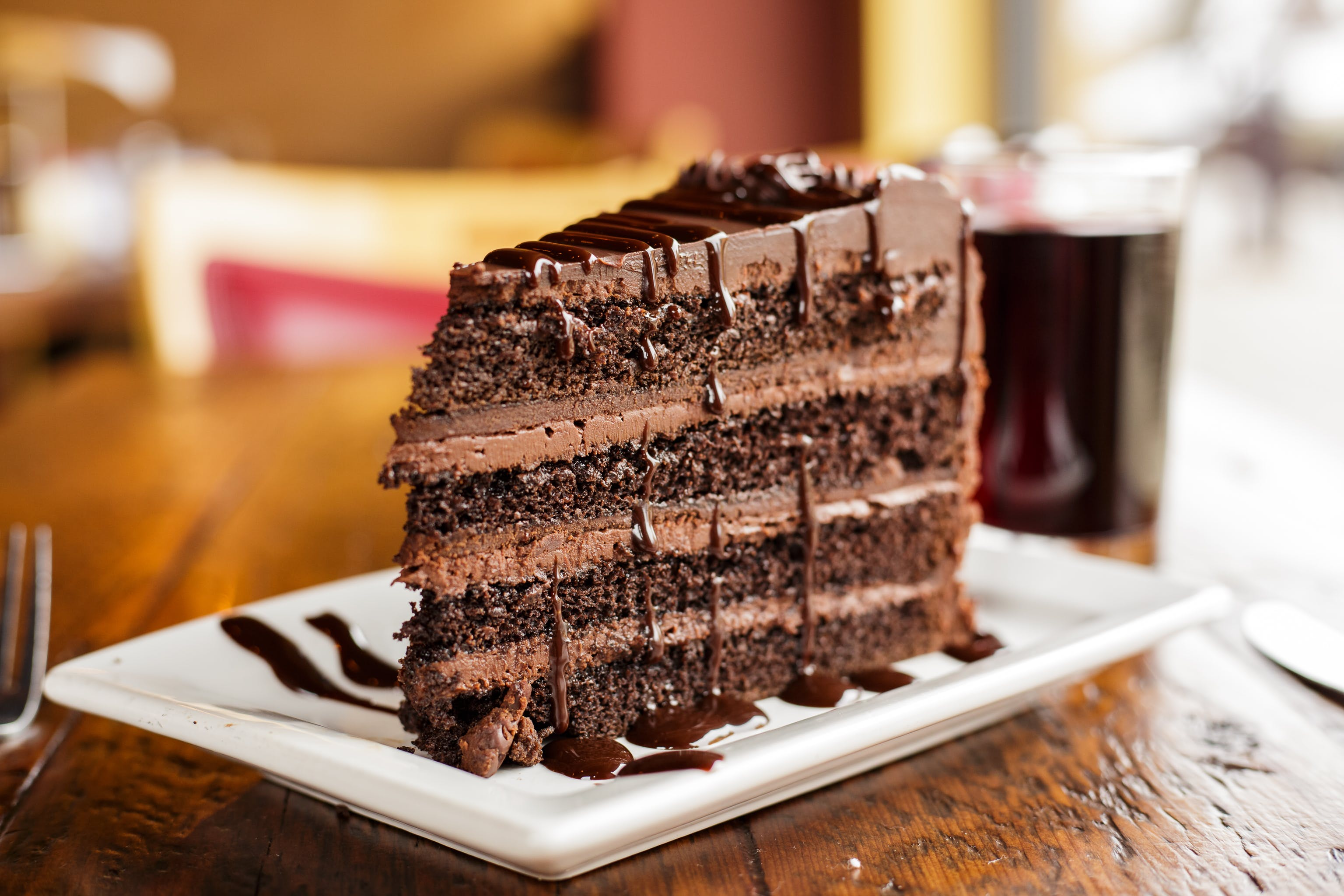 Chocolate Layer Cake from Luigi's in Madison, WI